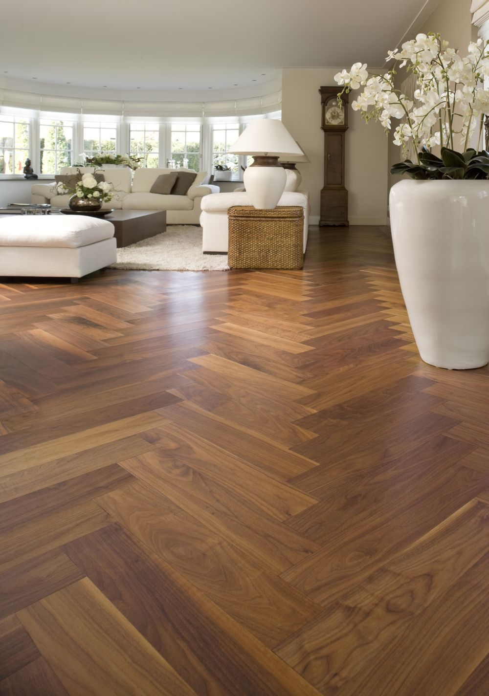 Houten vloeren, laminaatvloeren en PVC vloeren