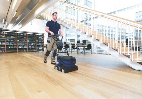 Onderhoud uw houten vloer goed